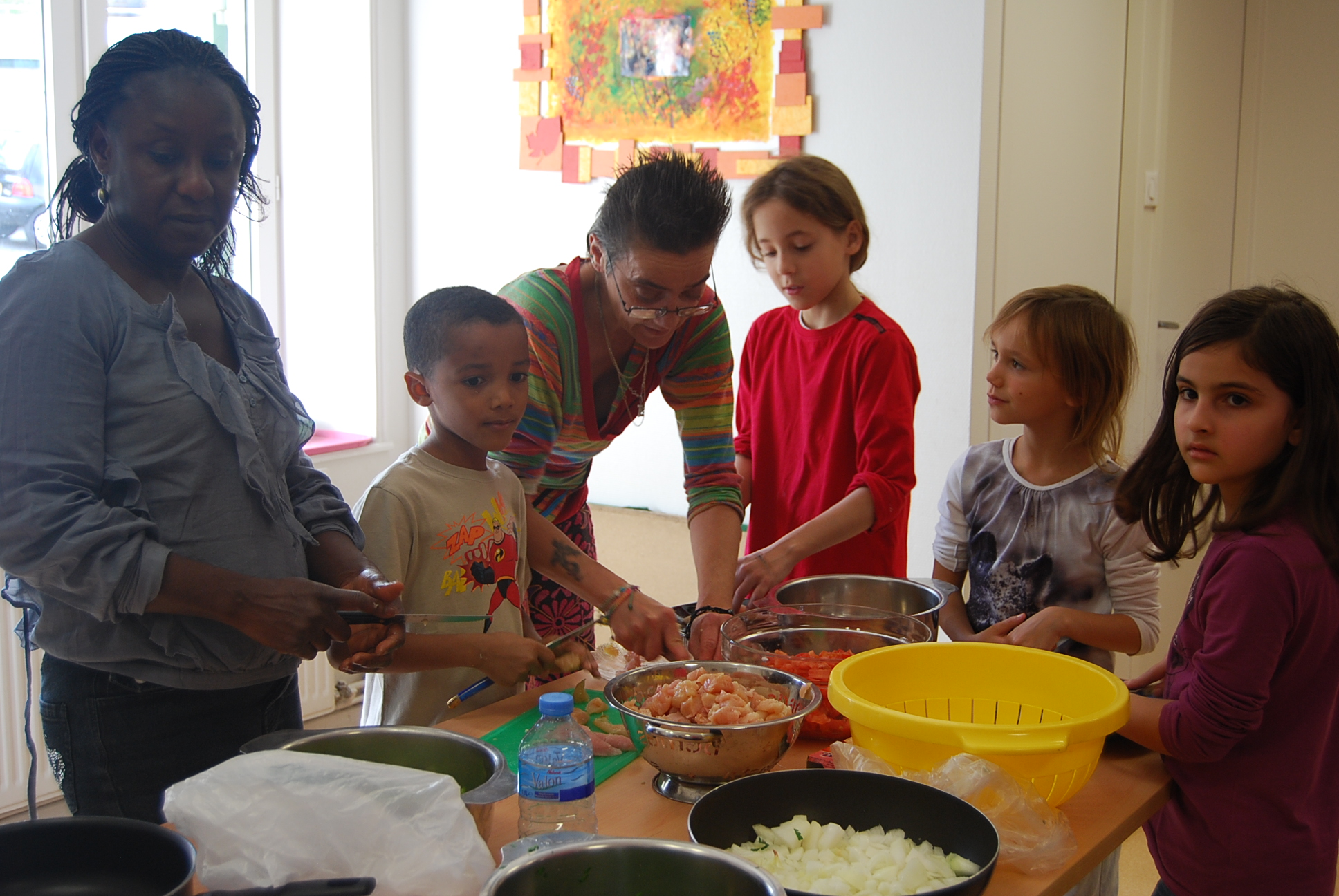 atelier cuisine maman enfant centre social mosa ques. Black Bedroom Furniture Sets. Home Design Ideas