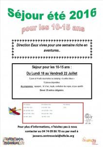 infos camp