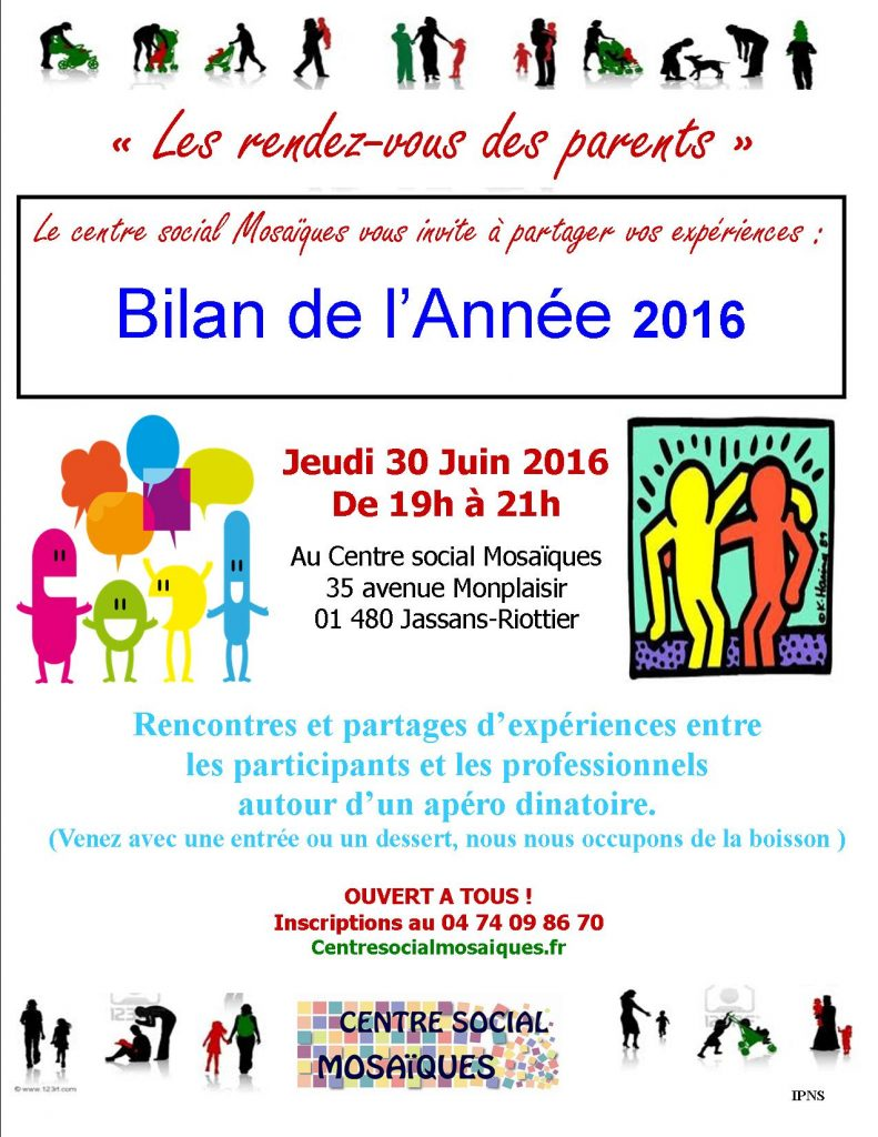 Rencontre - Apéro Dinatoire @ Centre Social
