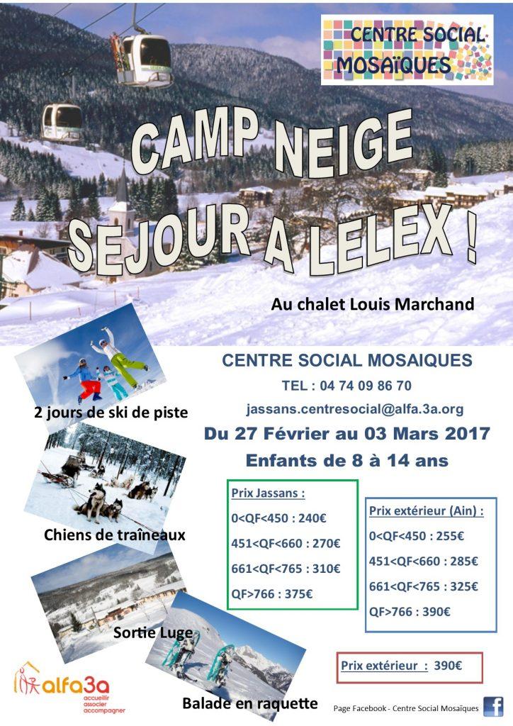 Séjour de Ski 2017 !