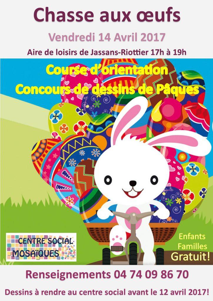 Chasse aux oeufs du vendredi 14 avril ! @ Aire de loisirs | Villefranche-sur-Saône | Auvergne-Rhône-Alpes | France