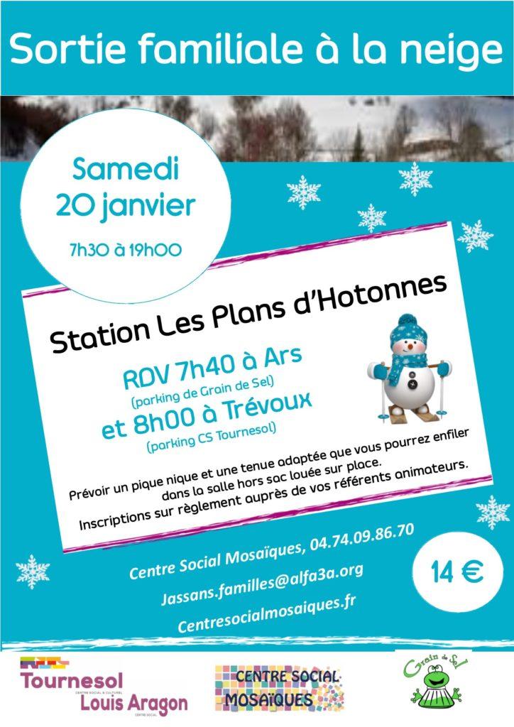 Sortie familiale à la neige ! @ Plans d'Hotonnes | Le Grand-Abergement | Auvergne-Rhône-Alpes | France